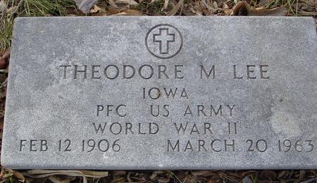 LEE, THEODORE M. - Monona County, Iowa | THEODORE M. LEE