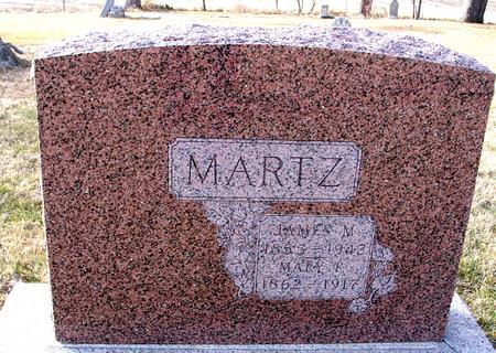 MARTZ, JAMES & MARY - Monona County, Iowa   JAMES & MARY MARTZ