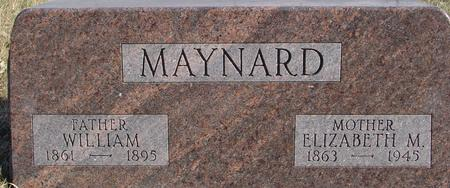 MAYNARD, WILLIAM & ELIZABETH - Monona County, Iowa | WILLIAM & ELIZABETH MAYNARD