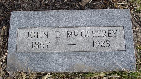 MC CLEEREY, JOHN T. - Monona County, Iowa | JOHN T. MC CLEEREY