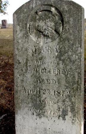 MC CLEEREY, MARY - Monona County, Iowa | MARY MC CLEEREY