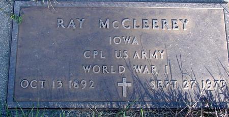 MC CLEEREY, RAY - Monona County, Iowa | RAY MC CLEEREY