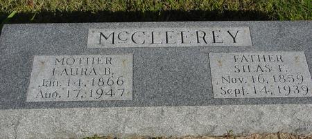 MC CLEEREY, SILAS F. & LAURA B. - Monona County, Iowa | SILAS F. & LAURA B. MC CLEEREY