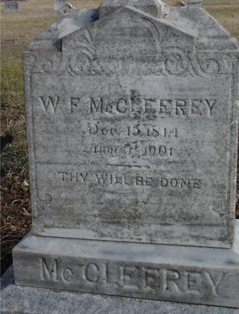 MC CLEEREY, W. F. - Monona County, Iowa   W. F. MC CLEEREY