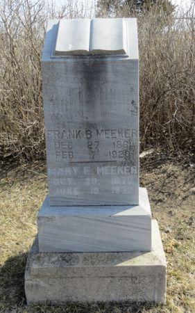 MEEKER, MARY E. - Monona County, Iowa | MARY E. MEEKER