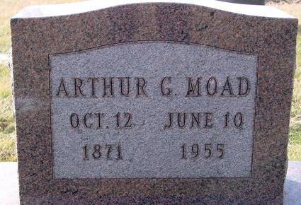 MOAD, ARTHUR G. - Monona County, Iowa   ARTHUR G. MOAD