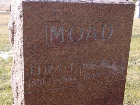 MOAD, GEORGE & ELIZA - Monona County, Iowa | GEORGE & ELIZA MOAD