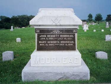 MOORHEAD, JOHN BENNETT - Monona County, Iowa | JOHN BENNETT MOORHEAD