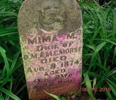 MORSE, MIMA M. - Monona County, Iowa | MIMA M. MORSE