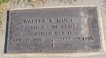 MUCKEY, WALTER R. - Monona County, Iowa   WALTER R. MUCKEY