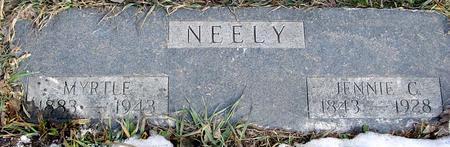 NEELY, MYRTLE & JENNIE C. - Monona County, Iowa | MYRTLE & JENNIE C. NEELY