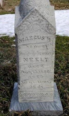 NEELY, MARCUS H. - Monona County, Iowa | MARCUS H. NEELY