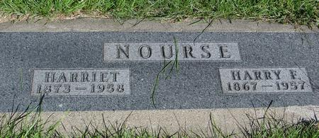 NOURSE, HARRY & HARRIET - Monona County, Iowa | HARRY & HARRIET NOURSE