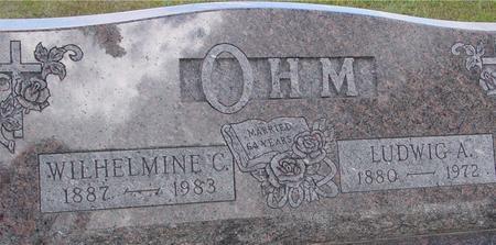 OHM, LUDWIG & WILHELMINE - Monona County, Iowa | LUDWIG & WILHELMINE OHM