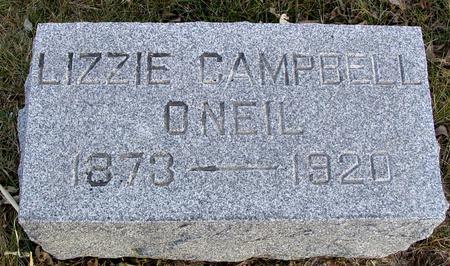 O'NEIL, LIZZIE - Monona County, Iowa | LIZZIE O'NEIL