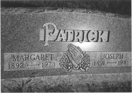 PATRICK, JOSEPH & MARGARET - Monona County, Iowa | JOSEPH & MARGARET PATRICK