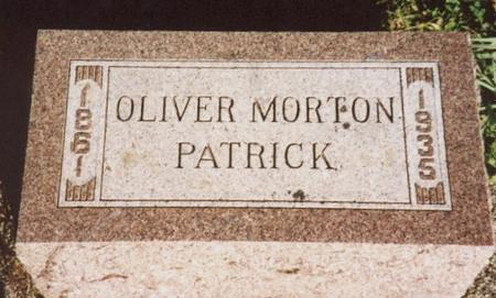 PATRICK, OLIVER MORTON - Monona County, Iowa | OLIVER MORTON PATRICK