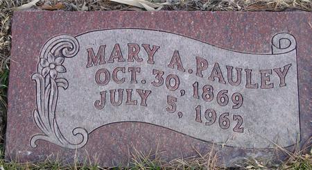 PAULEY, MARY A. - Monona County, Iowa | MARY A. PAULEY