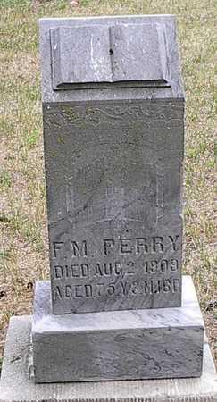 PERRY, F. M. - Monona County, Iowa   F. M. PERRY