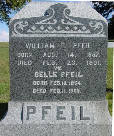 PFEIL, WILLIAM F. - Monona County, Iowa | WILLIAM F. PFEIL