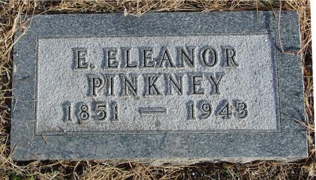 PINKNEY, E. ELEANOR - Monona County, Iowa | E. ELEANOR PINKNEY