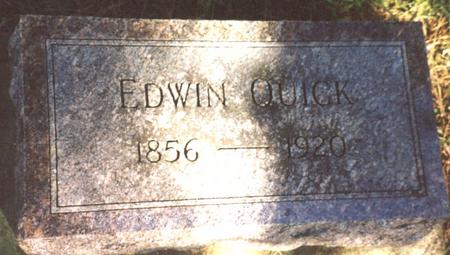 QUICK, EDWIN - Monona County, Iowa | EDWIN QUICK