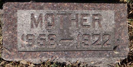 RASMUSSEN, MOTHER - Monona County, Iowa | MOTHER RASMUSSEN