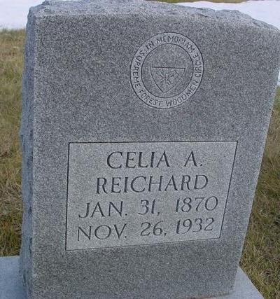 REICHARD, CELIA A. - Monona County, Iowa | CELIA A. REICHARD