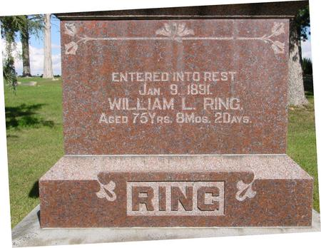 RING, WILLIAM L. - Monona County, Iowa | WILLIAM L. RING