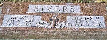 BRENNER RIVERS, HELEN B. - Monona County, Iowa   HELEN B. BRENNER RIVERS