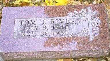 RIVERS, TOM J. - Monona County, Iowa   TOM J. RIVERS