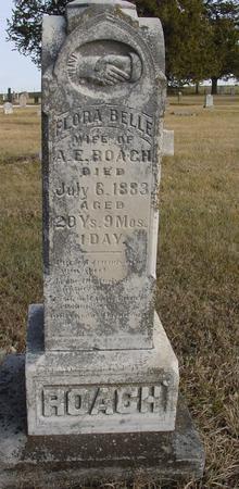 ROACH, FLORA BELLE - Monona County, Iowa | FLORA BELLE ROACH