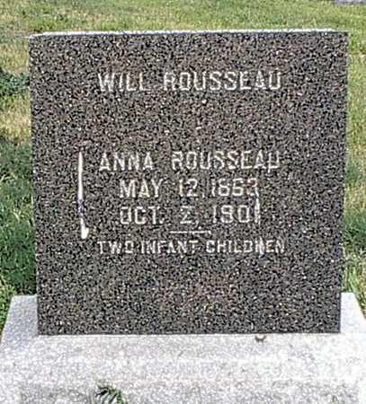 ROUSSEAU, ANNA - Monona County, Iowa | ANNA ROUSSEAU