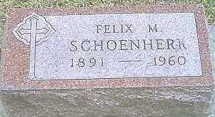 SCHOENHERR, FELIX M. - Monona County, Iowa | FELIX M. SCHOENHERR