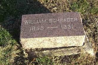 SCHRADER, WILLIAM - Monona County, Iowa | WILLIAM SCHRADER