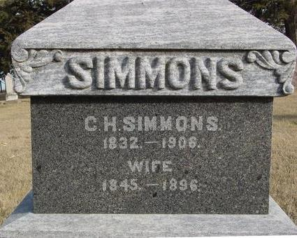 SIMMONS, C. H. - Monona County, Iowa | C. H. SIMMONS