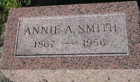 SMITH, ANNIE A. - Monona County, Iowa | ANNIE A. SMITH