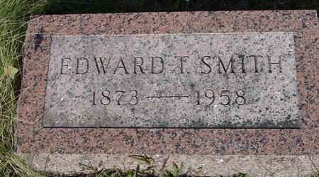 SMITH, EDWARD T. - Monona County, Iowa   EDWARD T. SMITH
