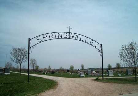SPRING VALLEY, ENTRANCE - Monona County, Iowa   ENTRANCE SPRING VALLEY