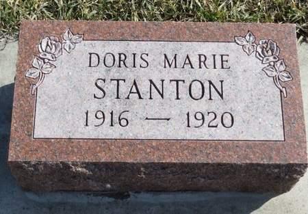 STANTON, DORIS MARIE - Monona County, Iowa   DORIS MARIE STANTON