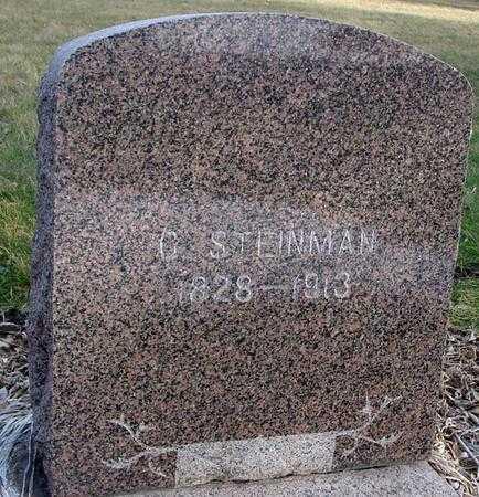 STEINMAN, C. - Monona County, Iowa   C. STEINMAN