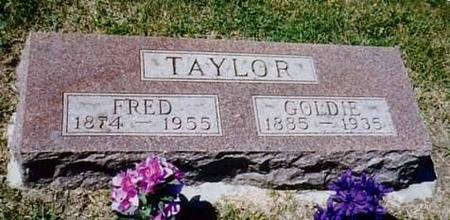 TAYLOR, FRED & GOLDIE - Monona County, Iowa | FRED & GOLDIE TAYLOR