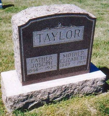 TAYLOR, JOSEPH & ELIZABETH - Monona County, Iowa | JOSEPH & ELIZABETH TAYLOR
