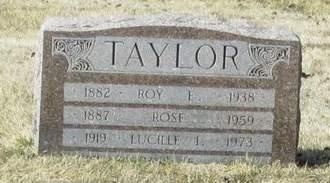 TAYLOR, ROY E. - Monona County, Iowa   ROY E. TAYLOR