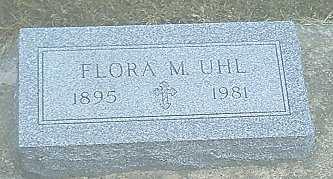 UHL, FLORA M. - Monona County, Iowa | FLORA M. UHL