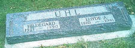 UHL, LOYDE A. - Monona County, Iowa | LOYDE A. UHL