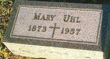 SCHOENHERR UHL, MARY - Monona County, Iowa | MARY SCHOENHERR UHL