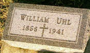 UHL, WILLIAM - Monona County, Iowa   WILLIAM UHL