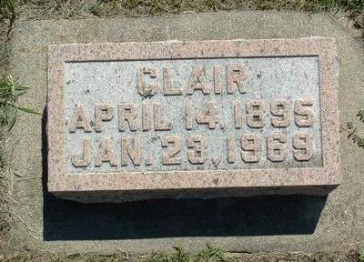 WAPLES, CLAIR - Monona County, Iowa   CLAIR WAPLES