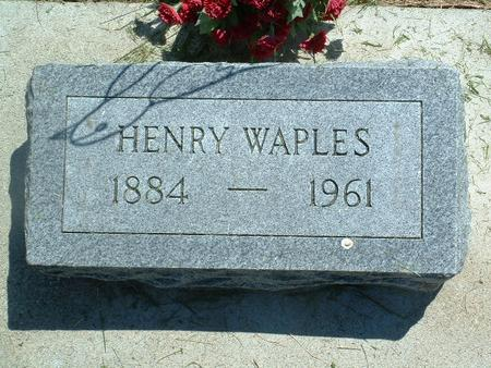 WAPLES, HENRY - Monona County, Iowa | HENRY WAPLES